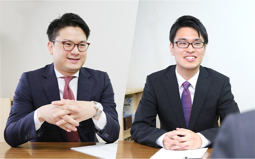代表・税理士 大井 智志 副代表 大藏 義弘